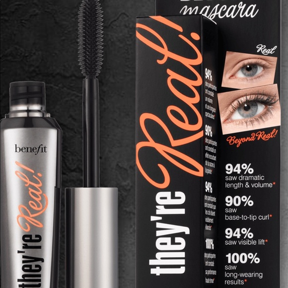 133654abe75 Benefit Makeup | Nib Theyre Real By Beyond Mascara Belief | Poshmark
